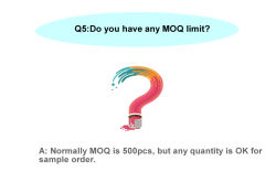 Do you have any MOQ limit?