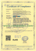 RoHS Certificate Compliance for Solar Panel