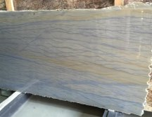 Azul Macauba Blue Quartz Granite Slab