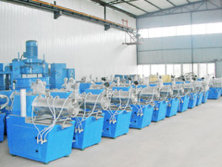 Horizontal bead mills storage