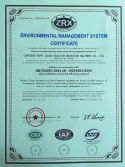 ENVIRONMENTAL MANAGEMENT SYSTEM CERTIFCATE