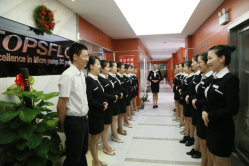 Overseas sales department