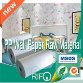 Waterproof tearproof PP wall paper film material