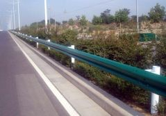Colred W beam Highway Guardrail