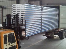 EPS Sandwich Panel Loading