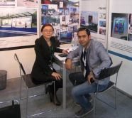 In SGI Dubai with old customer