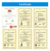 Vehicle MDVR certificate