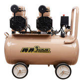 2X1400W 50L high speed air compressor