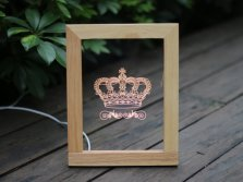 LED Acrylic picture frame