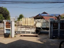 Chanke cnc router arrive to Lao
