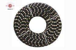 Diamond wire saw for quarrying