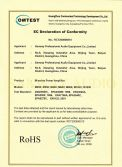 M series AMP RoHS Certification