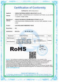 RoHS certification for LED emergency light