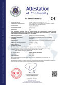 CE Certificate of KX-08 IR thermometer
