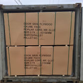 plywood door skin package loading