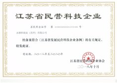 Authorized Certifcate of Science and Technology Enterprises