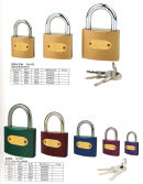 COLOUR IRON PADLOCK