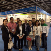 We attended the HK HKTDC Fair in Apr.2016
