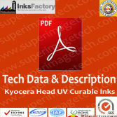 TDS & Description for Kyocera UV Curable Ink