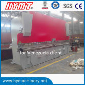 WC67Y-500x6000 heavy duty hydraulic steel plate bending machine