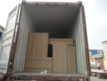 Particle board Loading with loose package