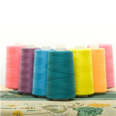 SAKURA 100% spun polyester sewing thread