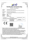 CE certificate of cinematic light box