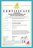 CE Certification-forming