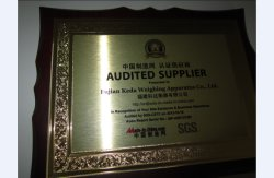 Made in China Audited Supplier(SGS Report)