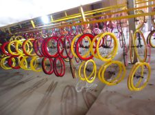 Bicycle Rim Line