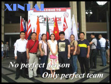 No perfect person, Only perfect team