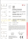 CE-LVD certification of FP series amplifier