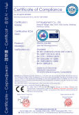 CE certificate of Electric stacker