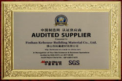 Made in China & SGS certificate