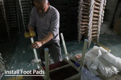 13 install Foot Pads