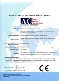 CE Certificate of XG Type Screw Pump
