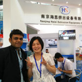 India customer in 2015 chinaplas