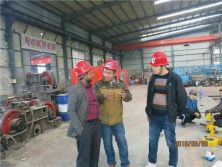 Overhead crane for African customer