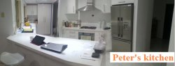 Kitchen cabinet project for Australia client′s kitchen