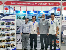 Hanfa attended the Southeast Asian Trade Show for Construction and Infrastructure.