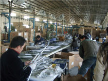 Walking aids production line