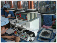 SS864 coil winding machine appllication in Falco electronic