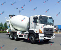 HINO Chassis Concrete Truck Mixer for Sale