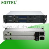 Softel SST-I-2600S 1550nm 950~2600MHz SAT-IF Direct Modulated Optical Transmitter, 1 U 19Satellite