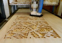 Can bamboo sheets be cut with a CNC router?