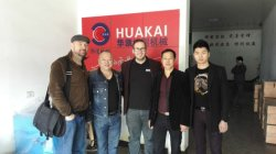 Customers visit Wenzhou HUAKAI Slope-Cut Industrial Co.,Ltd
