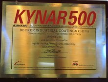 Becker Supplier certificate