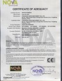 CE certificate for gasoline sweeper