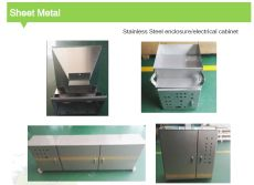 Sheet metal enclosure / electrical cabinet