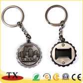Souvenir Gifts Metal Keychain and Bottle Opener